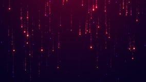 Starfall tło UHD 2160p 4K 3840x2160 postanowienie Obrazy Stock