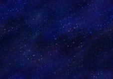 Starfield夜空无缝的瓦片 免版税库存图片