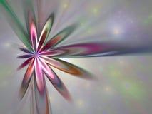 Starfield входа в атмосферу Стоковая Фотография