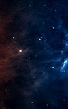 Starfield в глубоком космосе много световых год далеко от земли Элементы этого изображения поставленные NASA Стоковые Изображения RF