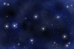 Starfield illustrazione vettoriale