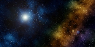 Starfield Stock Image