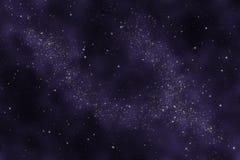 Starfield - Abstract heelal Royalty-vrije Stock Foto