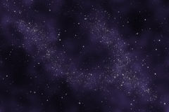 Starfield - Abstract universe Royalty Free Stock Photo
