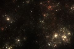Starfield Background Stock Image