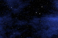 Starfield Background Royalty Free Stock Photography