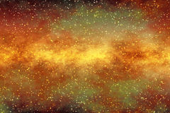 Starfield Background. Imaginary Starfield that can be used a background for custom subjects Royalty Free Stock Image