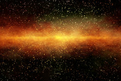 Starfield Background Royalty Free Stock Image