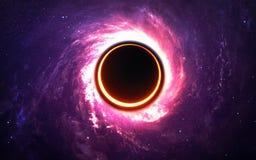 Starfield dans l'espace lointain beaucoup d'années lumière loin de la terre Éléments de cette image meublés par la NASA Image libre de droits