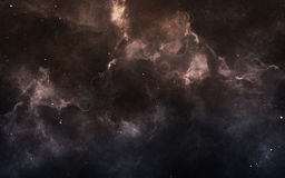 Starfield in deep space many light years far from the Earth. Elements of this image furnished by NASA Royalty Free Stock Image
