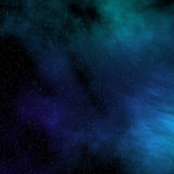 Starfield dello spazio Fotografie Stock