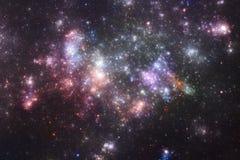 Starfield do espaço profundo Fotografia de Stock