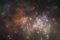Starfield do espaço profundo Fotografia de Stock Royalty Free