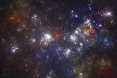 Starfield do espaço profundo Fotos de Stock Royalty Free