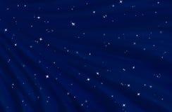 Starfield en cielo nocturno estrellado stock de ilustración