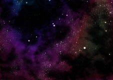 Starfield fabula rise Stock Image