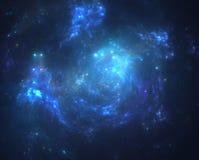 Starfield foncé d'espace lointain Image libre de droits