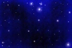 Starfield Hintergrund Stockbild