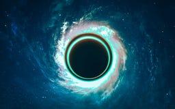 Starfield i djupt utrymme många ljusår långt från jorden Beståndsdelar av denna avbildar möblerat av NASA Royaltyfri Foto
