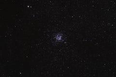 Starfield met de Wilde Cluster van de Eend (M11) Stock Afbeeldingen