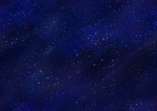 Starfield Night Sky Seamless Tile Royalty Free Stock Image