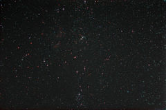 Starfield with Perseus and Milky Way Stock Image
