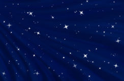 Starfield in starry night sky Stock Photo