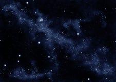 Starfield Whirl Stockfoto