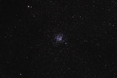 Starfield with Wild Duck Cluster (M11) Stock Images