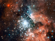 starfield wszechświat Obrazy Stock
