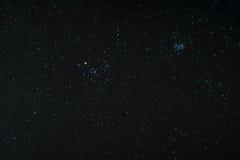 Starfield z Taurus i Pleiades Zdjęcie Royalty Free