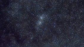 Starfields - Dubbele Cluster in Perseus stock illustratie