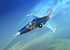 Starfighter Royalty Free Stock Photo