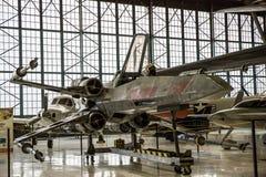 Starfighter-X-Flügel-Replik Stockfotos