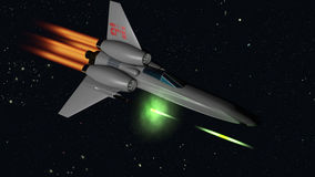 Starfighter shooting Stock Photos