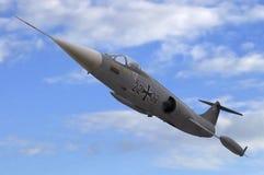 Starfighter in the sky Stock Photo