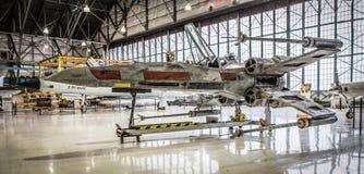 Starfighter-X-Flügel-Replik Lizenzfreies Stockbild