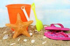 starfish джунглей childs ведра Стоковое Изображение RF