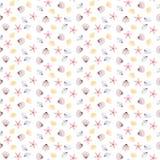 starfish раковин картины безшовные бесплатная иллюстрация