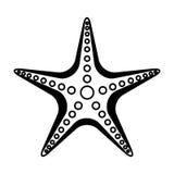 Starfish animal isolated icon. Vector illustration design Royalty Free Stock Photo