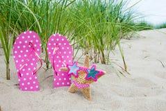 Starfish in bikini Stock Images