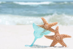 Starfish on holiday Stock Photography