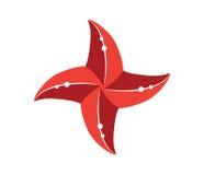 Starfish Icon Design Stock Photo