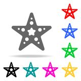 Starfish icon. Elements in multi colored icons for mobile concept and web apps. Icons for website design and development, app deve. Lopment on white background Stock Photo