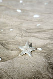 Starfish on sand Stock Photo