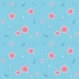 Starfish seamless pattern Royalty Free Stock Photography