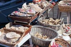 Starfish and seashells souvenirs Stock Photography