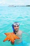 starfish snorkel Стоковое фото RF