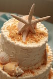 Starfish Wedding Cake Royalty Free Stock Photo