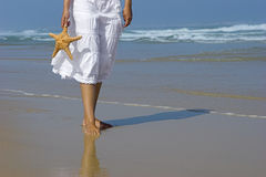Starfish woman Stock Image
